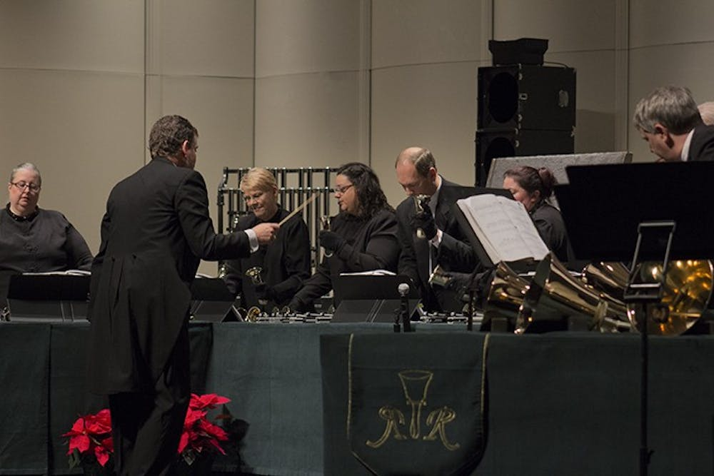 The Raleigh Ringers ring in Christmas spirit at SU