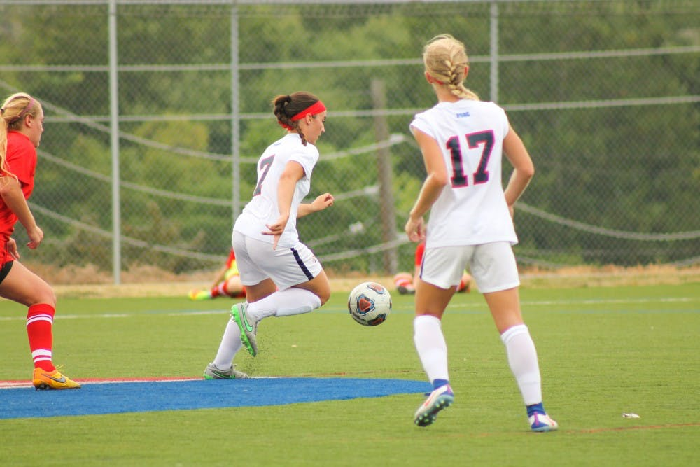 Women's soccer defeats Goldey-Beacom