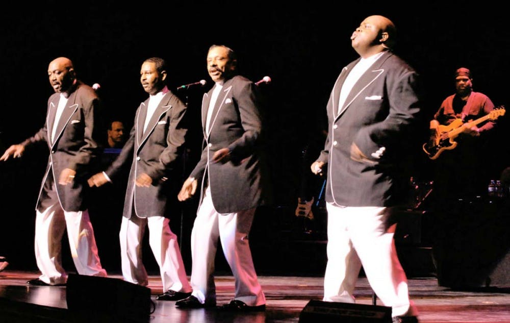 Luhrs Stage sizzles with the sounds of the Temptations