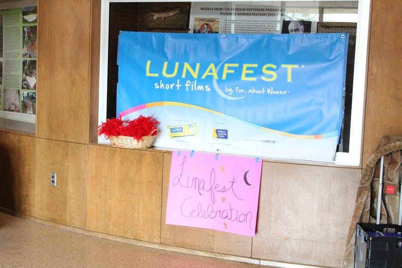 The LUNAFEST celebration was held in the Franklin Science Center on Tuesday.