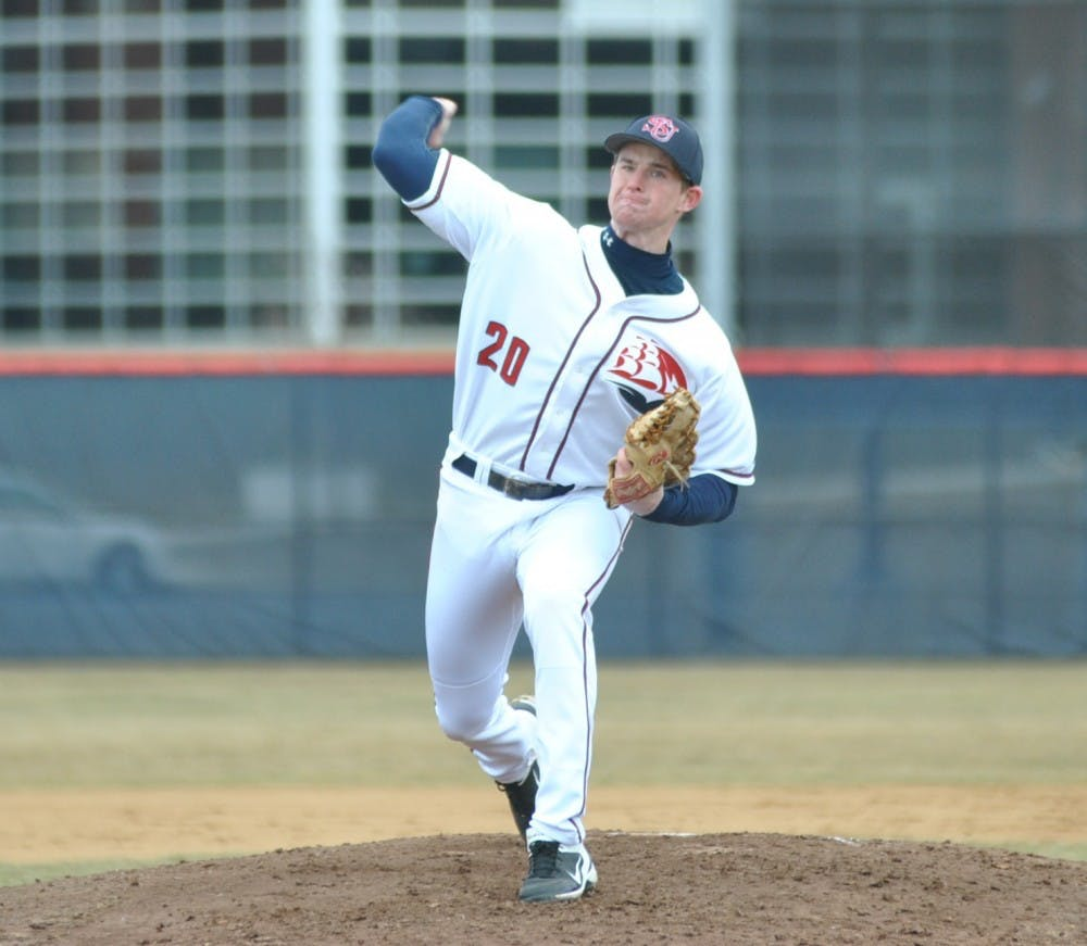 Baseball drops doubleheader to Kutztown