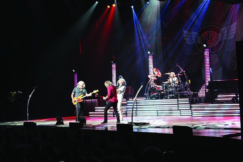 REO Speedwagon formed in the midwest about 50 years ago. They started off as a small band playing shows at colleges in Illinois, and now have toured world-wide.