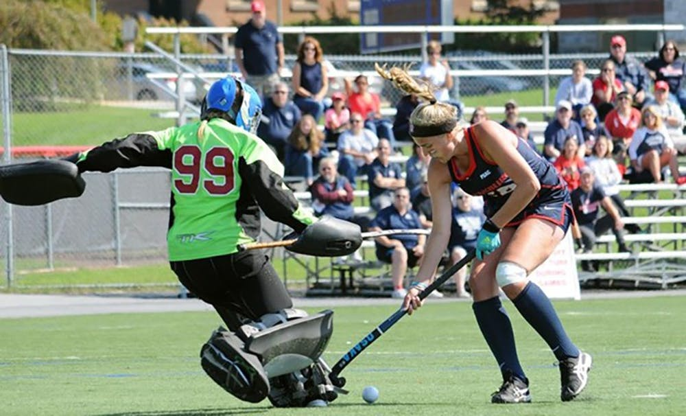 Field hockey clinches third seed in PSAC