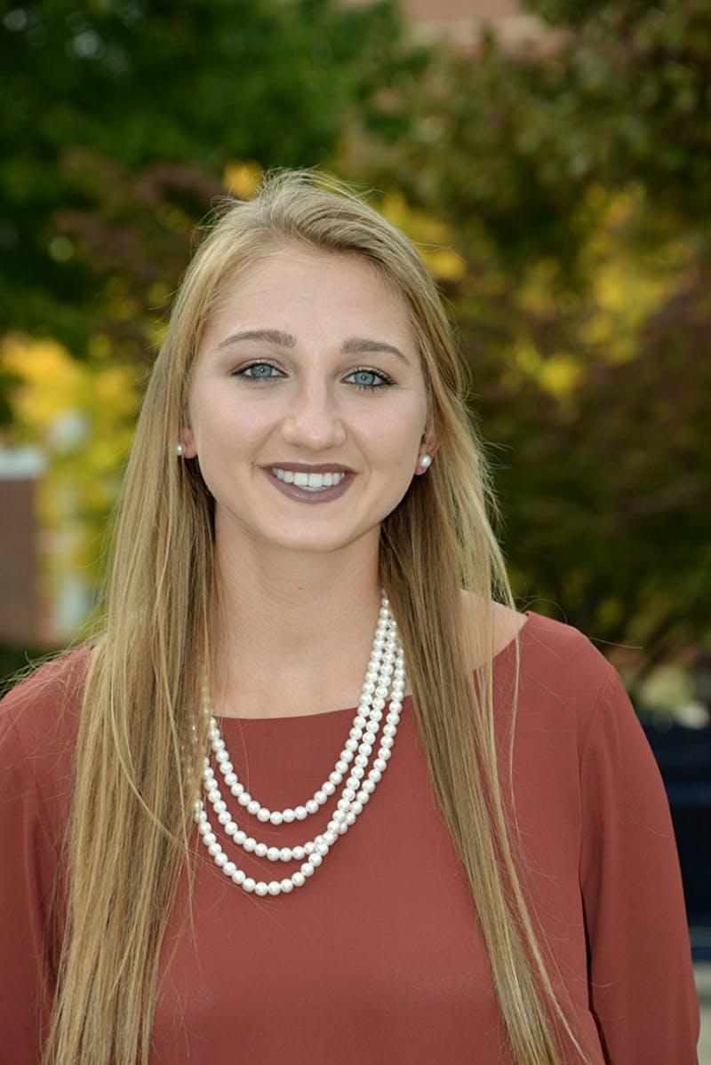 Madison Scarr, College Athletic Representative
