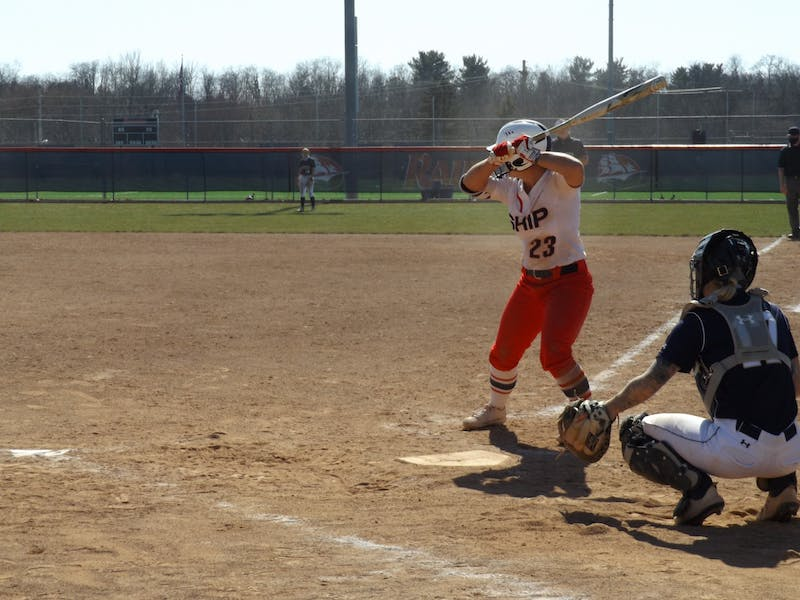 Freshman Alyssa Nehlen finished her weekend versus Shepherd 5 for 9 with a homerun and three RBIs, bringing her season batting average to .421.