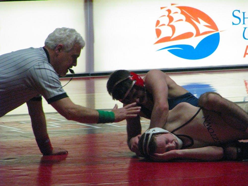 Wrestling drops match to No. 2 Kutztown