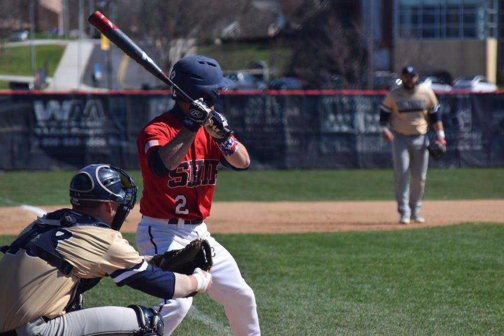 SU baseball splits weekend series