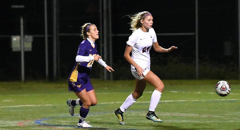 Freshman Allie Christman grabbed her first two collegiate goals in the narrow 3–2 loss to West Chester University immediately preceding the visit to Mercyhurst. The team has lacked a consistent threat on offense.
