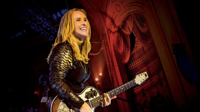 Singer Melissa Etheridge is coming to Luhrs tomorrow night.