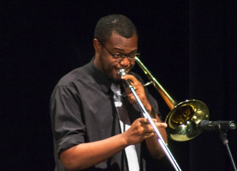 The Evening of Jazz concert included performances from the Shippensburg Area School District music groups and Shippensburg University Jazz Ensemble.