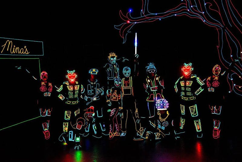 iLuminate dance group is gearing up for a night of bright lights and high energy performance.