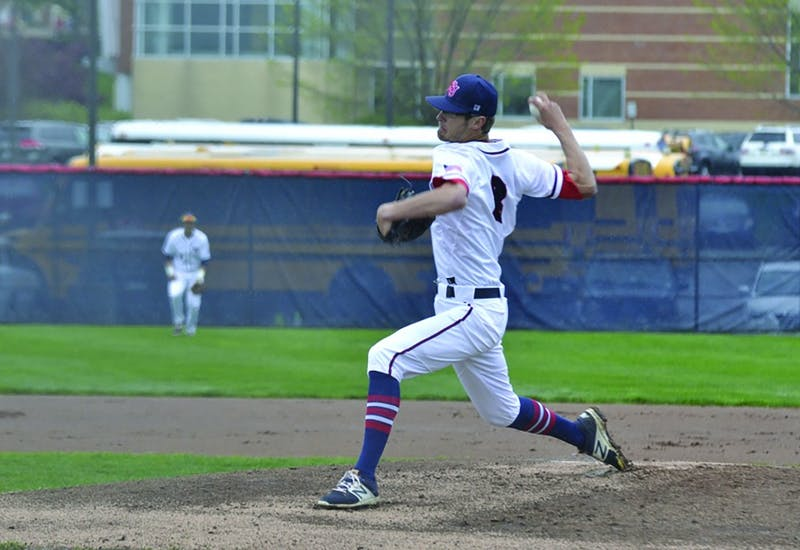 Gabe Mosser threw a no-hitter in Saturday's win.