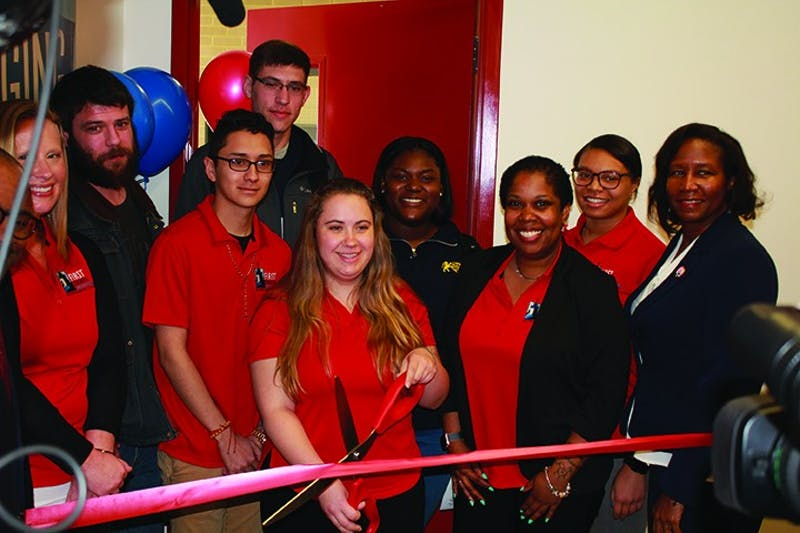 The Office for Students First: Center for Emerging Scholars ribbon-cutting ceremony introduced the Students First program Wednesday.
