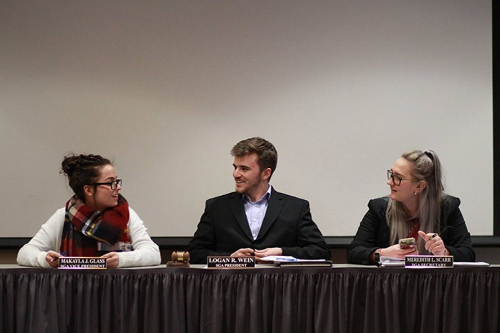 SGA changes leadership structure