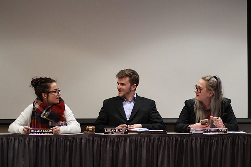 Recent changes made to the Student Government Association (SGA) constitution will impact the positions of the Executive Rules Committee. The new positions include vice presidents of external affairs, finance, student groups and new senator positions. The elected students will take office in May 2019.