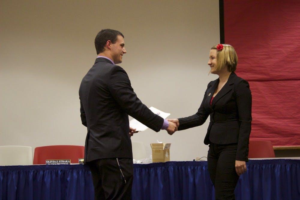 New members sworn in to Student Senate