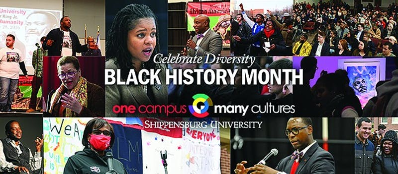 Black History Month is celebrated all across the Shippensburg University Campus through virtual and in person events. Students, faculty and staff come together to celebrate and learn from and listen to each other.