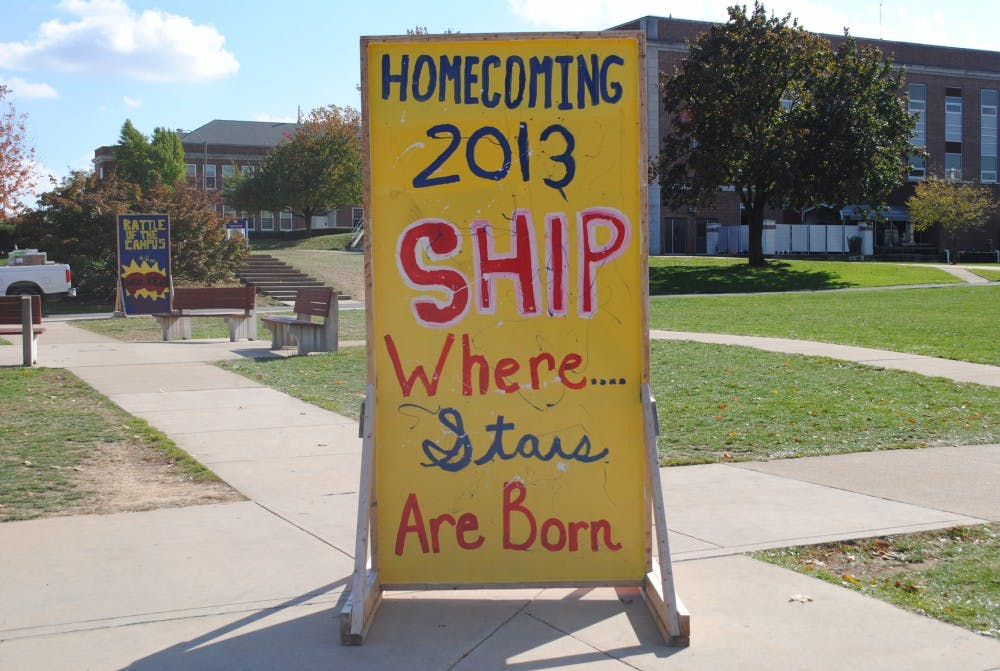 Homecoming planners see hard work come to life