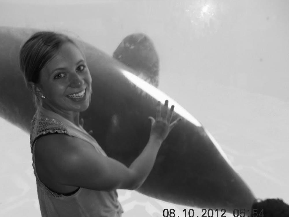 Alumna Spotlight: alumna interns at SeaWorld