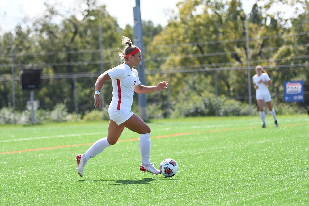 Soccer draws tie with Lock Haven