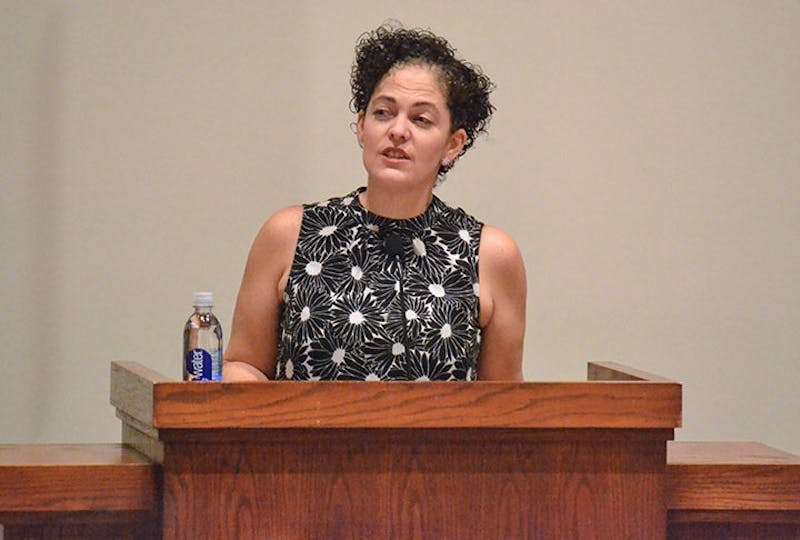 "Shara McCallum, a poet and author, shares poems from her recent book ""Madwoman"" with SU."
