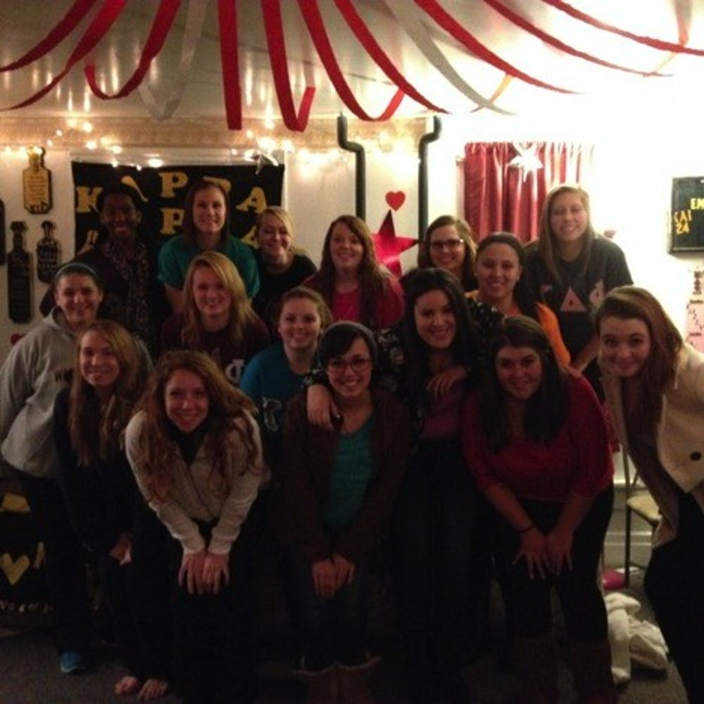 Kappa Delti Phi N.A.S. does magic with rush week