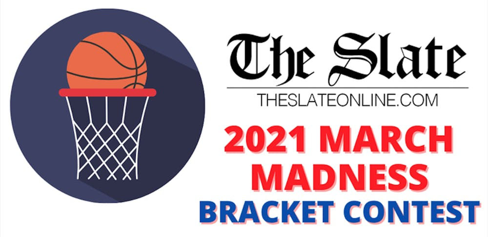 The Slate hosts 2021 March Madness Bracket Contest