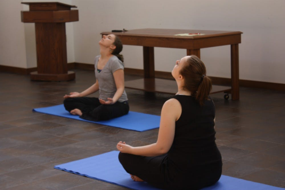 SU offers yoga to help with students' stress level