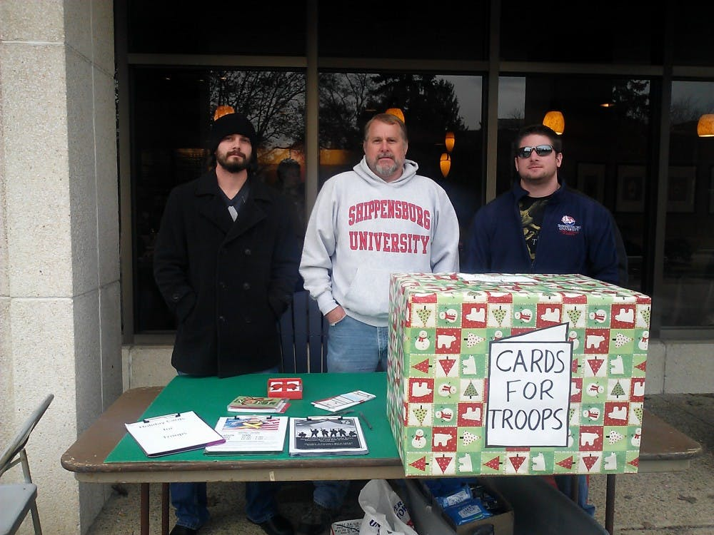 SVA card drop off supports deployed troops