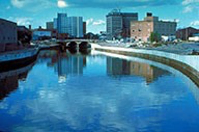 The Flint River was previously used as a source of drinking water for the town's residents.