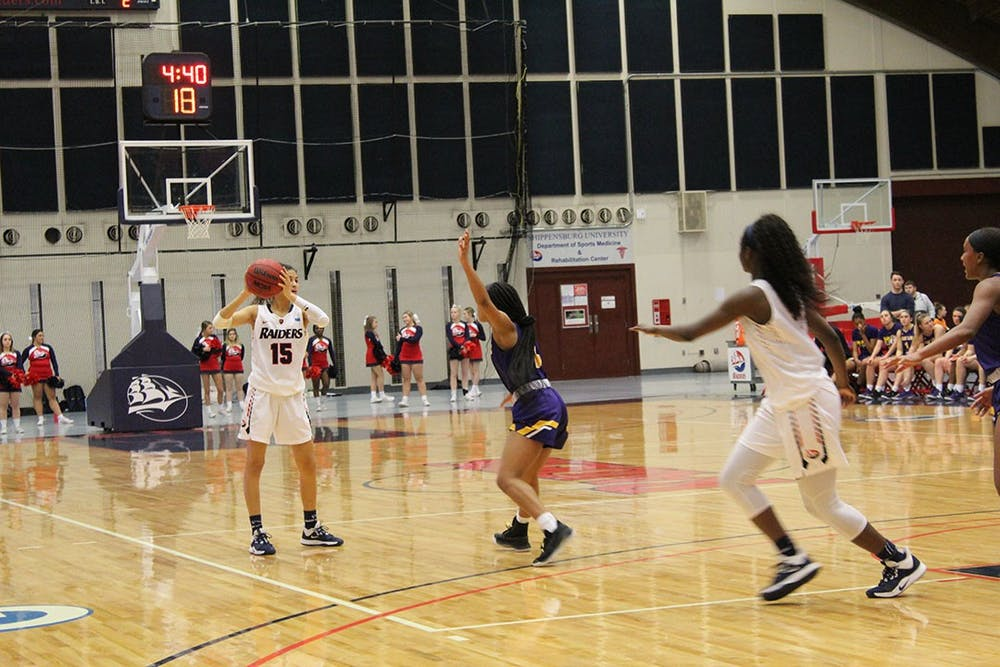 Women's basketball locks up home game in PSAC tournament