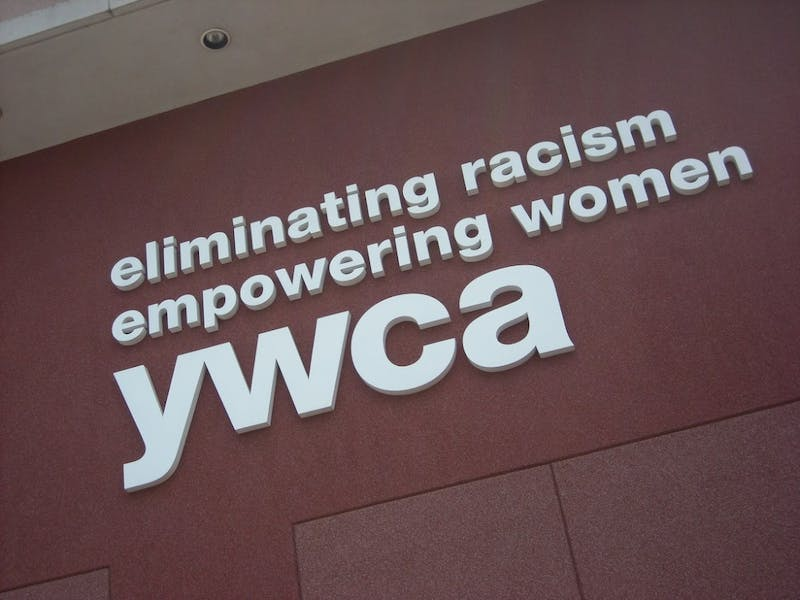 """YMCA was one of the many groups that participated in """"Take Back The Night."""""""