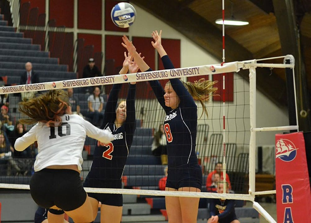 Volleyball's chase for PSAC title cut short (video included)