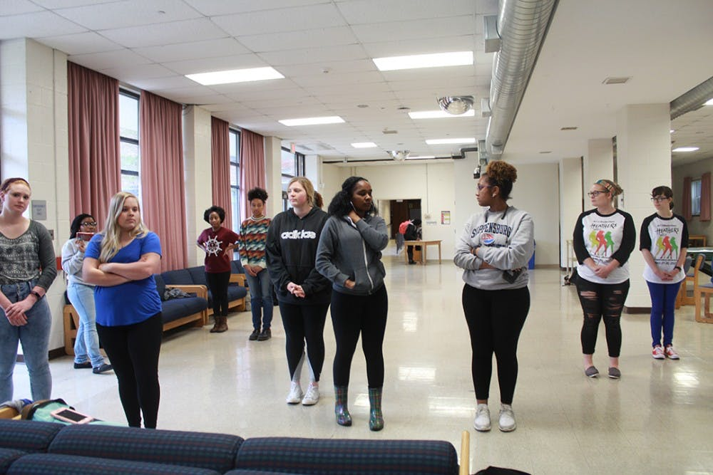 Students take a look at life with Privilege Walk