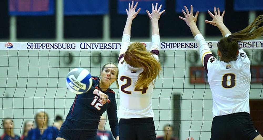 Volleyball hits speed bump, still in playoff hunt