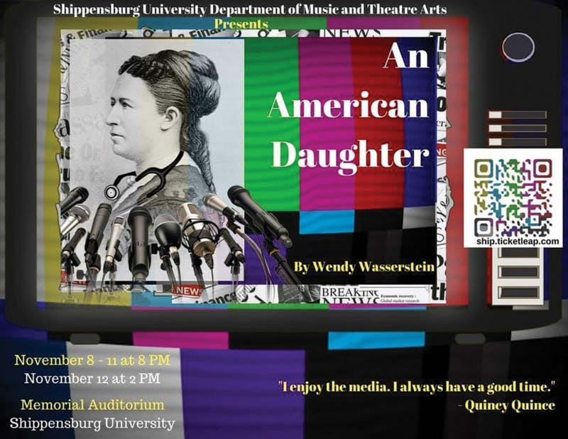 "SU's theater practicum class teaches students skills important to a theater-related career and their practical applications. Theater students will apply the skills they obtained in class in the performance of ""An American Daughter."""