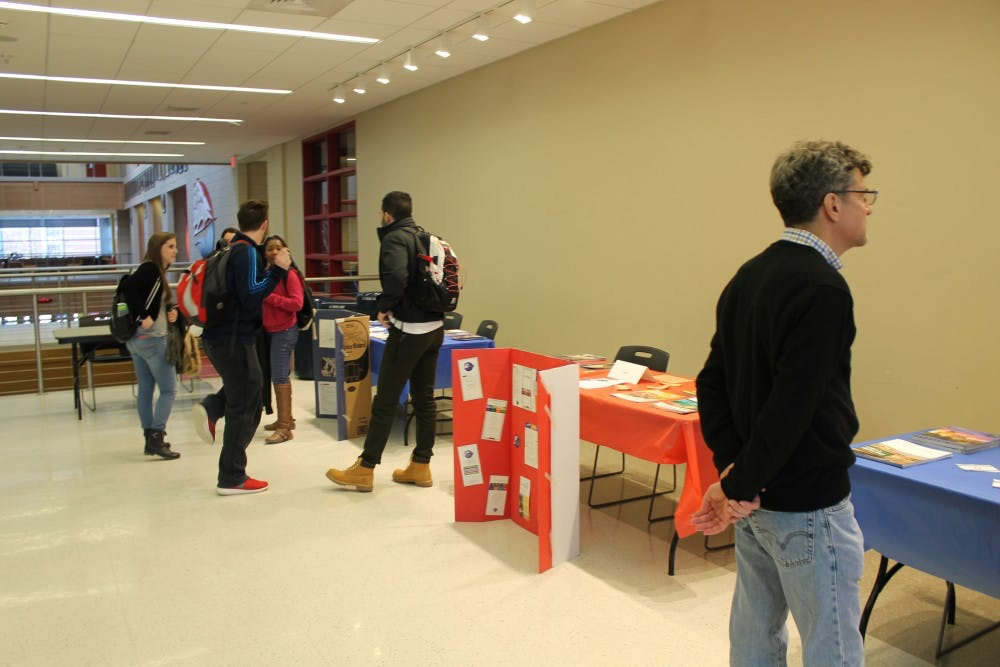 Study abroad fair transports students