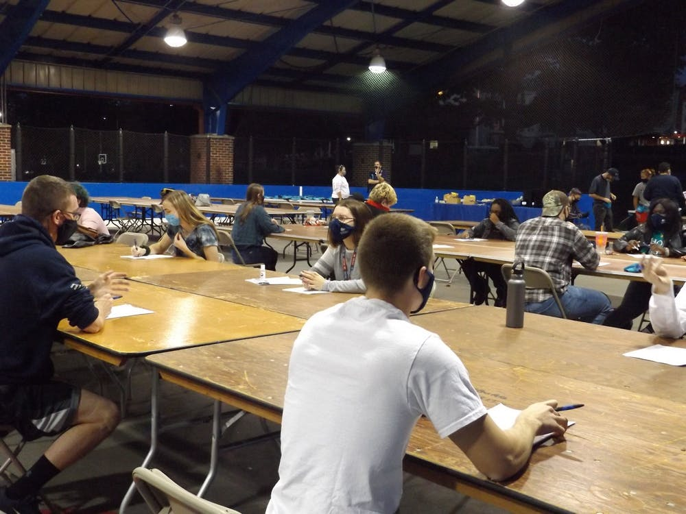 SU students talk politics at Diversity Week's speed dating