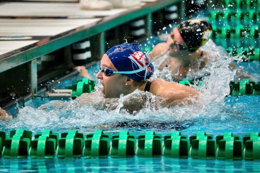 Swimming dominates at Bomber Invitational
