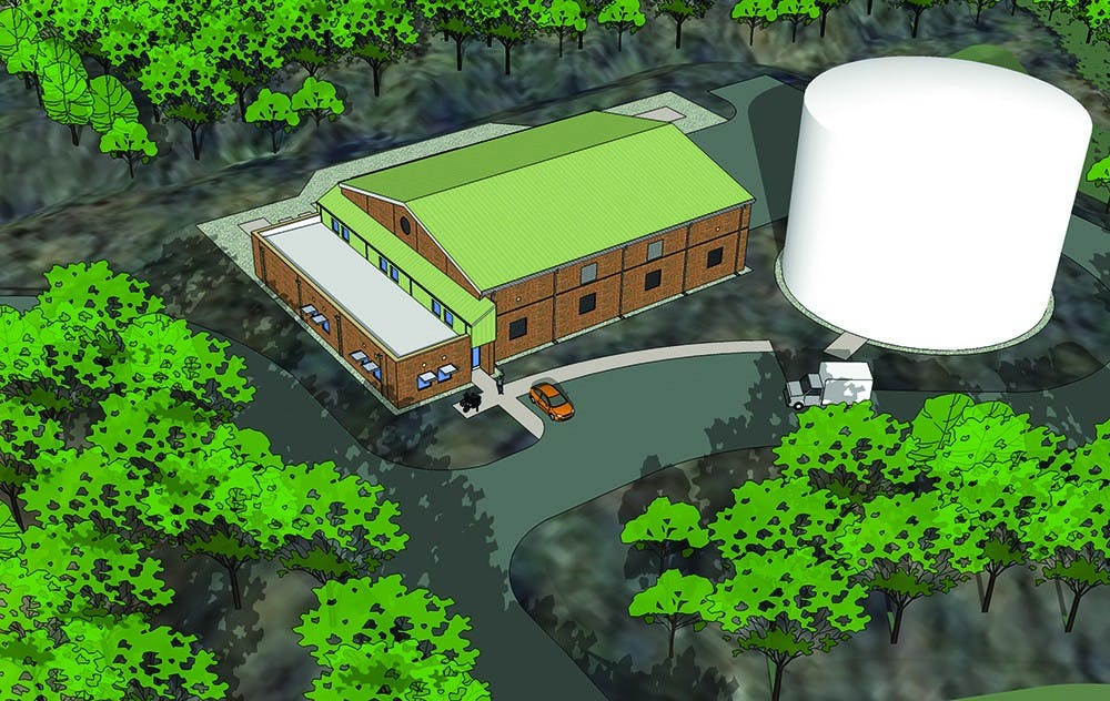 Construction set to begin on water chilling plant, steam system