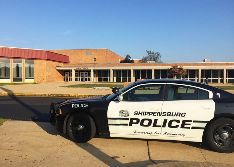 Members of the Shippensburg Police Department coordinated K-9 officers from the Cumberland County Sheriff's Department and the Carlisle War Barracks.