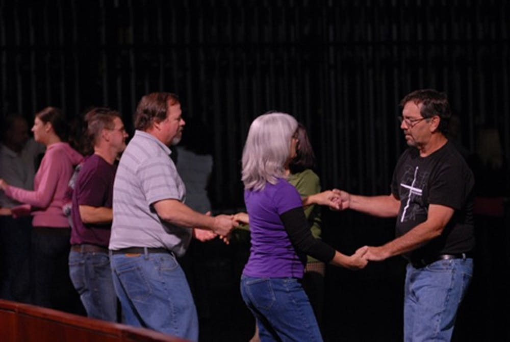 Retired Army Colonel teaches Shippensburg to dance