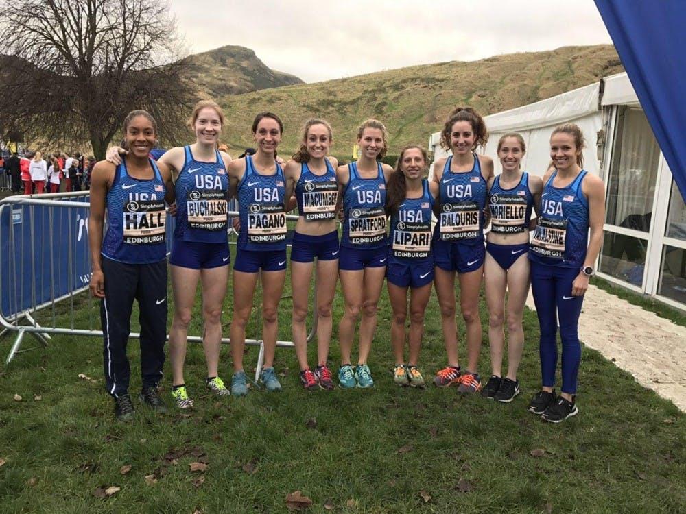 SU alumna represents Team USA in Scotland