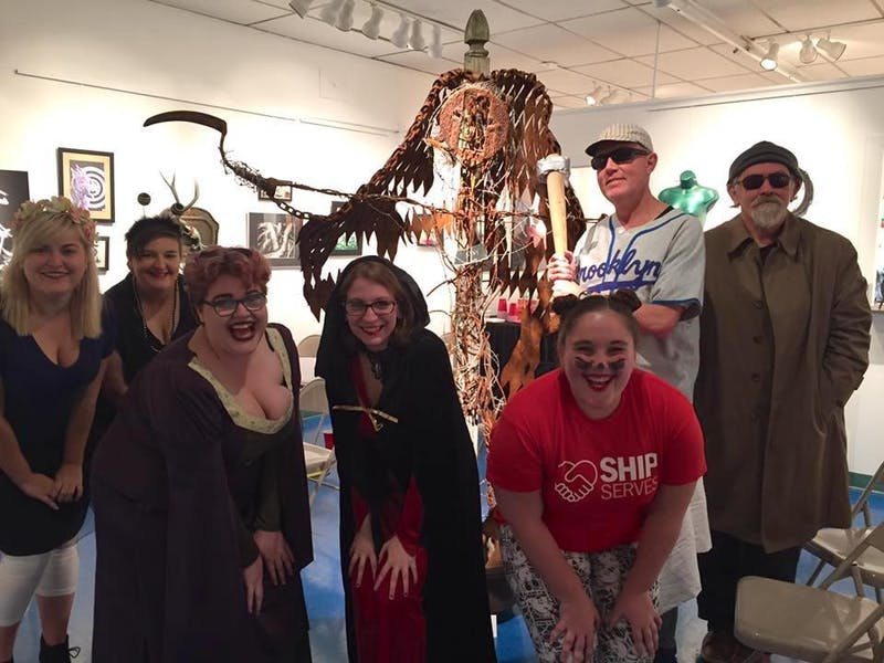 "Decked out in Halloween costumes, members of The Reflector celebrated the spooky October holiday this year at the SHAPE Gallery with poetry. ""Post-Love"" stemmed from this event, and The Reflector hopes to continue its holiday open mics annually."