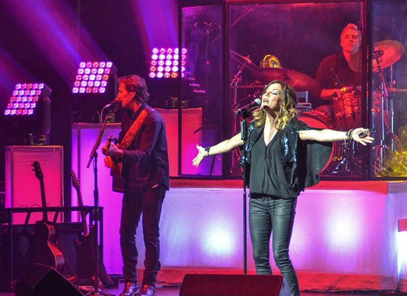 Martina McBride showers her concertgoers with plenty of music, wisdom and love to go around during her performance at H. Ric Luhrs Performing Arts Center.