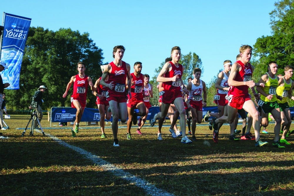 Men's cross-country finishes 16th at NCAA Nationals