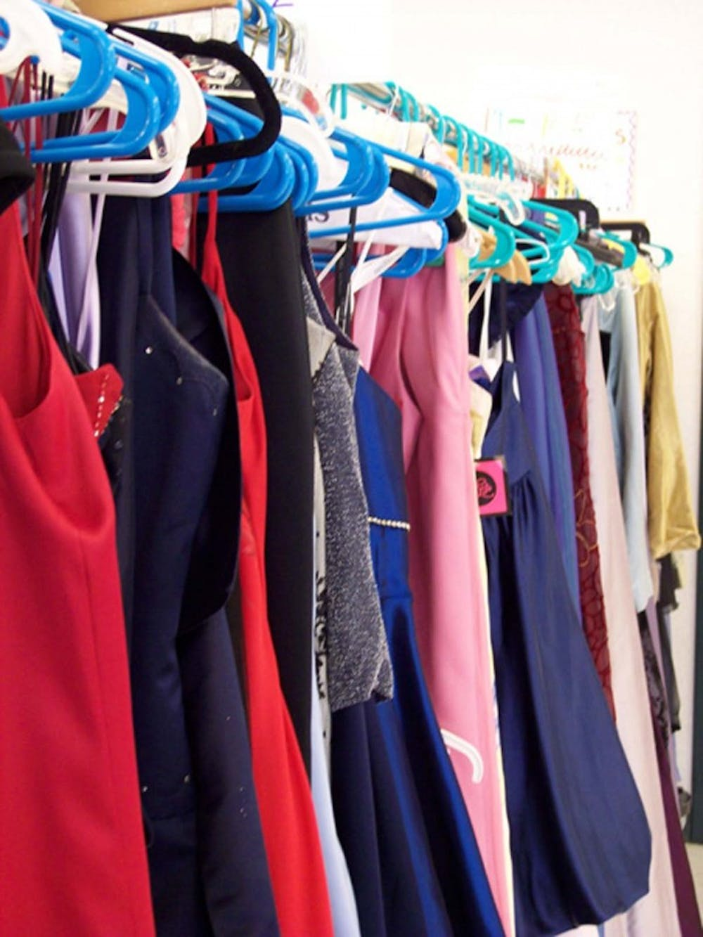 Time to get rid of your old prom dresses and support a good cause