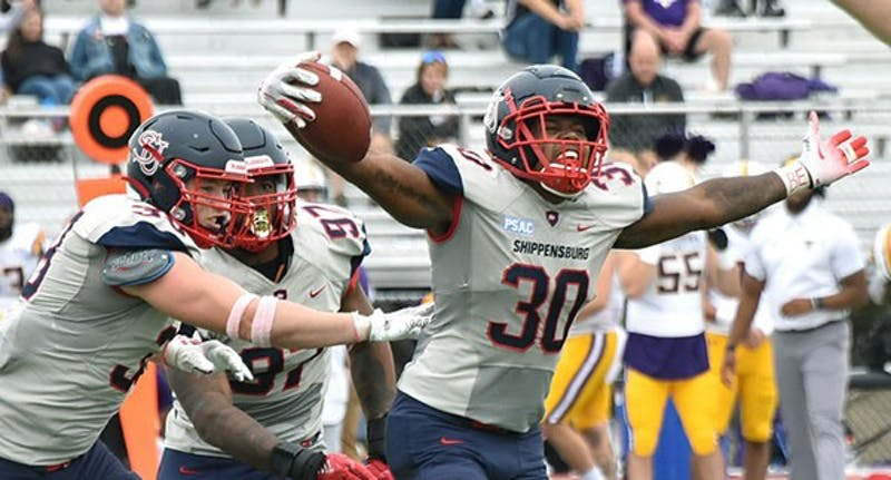 Shippensburg football picked up its first victory over West Chester University since 2015 when the score was 27-11. The Raiders won 34-18 this year.