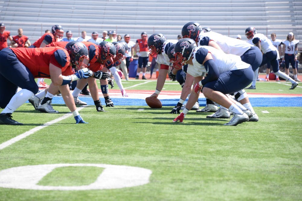 White knocks off Red 13-3 in annual Spring Game
