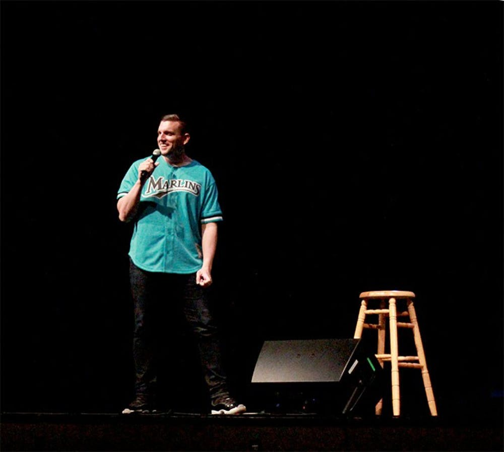 Students release school woes with Chris Distefano